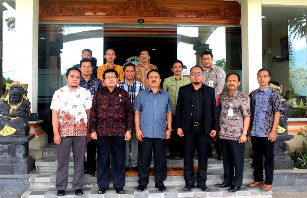 Audiensi Bawaslu Provinsi Bali ke 6 pemerintah Kabupaten/Kota se-Bali