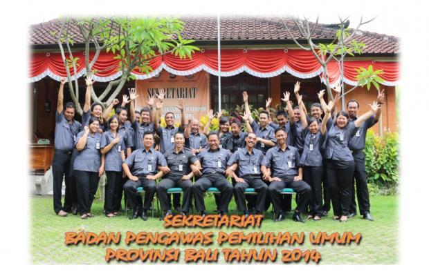 Sekretariat Bawaslu Provinsi Bali Tahun 2014