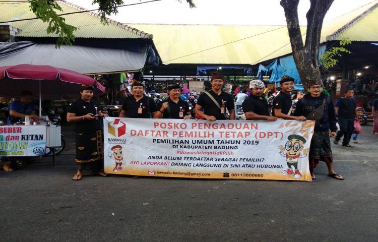 Bawaslu Kabupaten Badung Jaga Hak Pilih