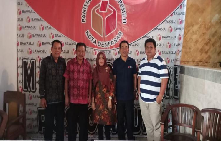 Menerima Kunjungan Tim Seleksi Bawaslu Kabupaten/Kota se-Bali