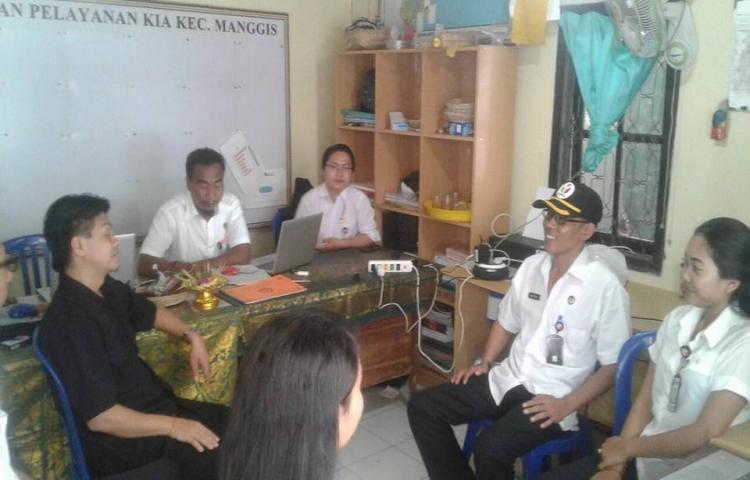 Monitoring dan Evaluasi Personil Kesekretariatan Panwaslu Kecamatan
