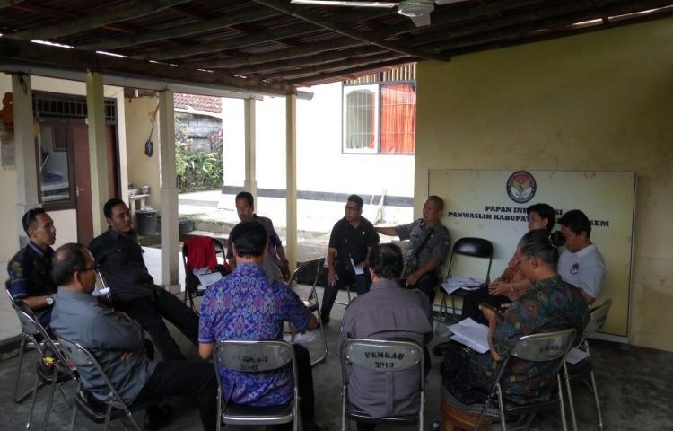 Rapat Koordinasi Pembentukan Perekrutan Pengawas Pemilu Lapangan (PPL) dan Evaluasi Verifikasi Faktual Kecamatan