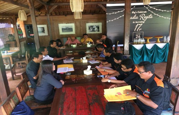 Rapat Koordinasi dan Patroli Pengawasan Masa Tenang PILGUB Bali Tahun 2018