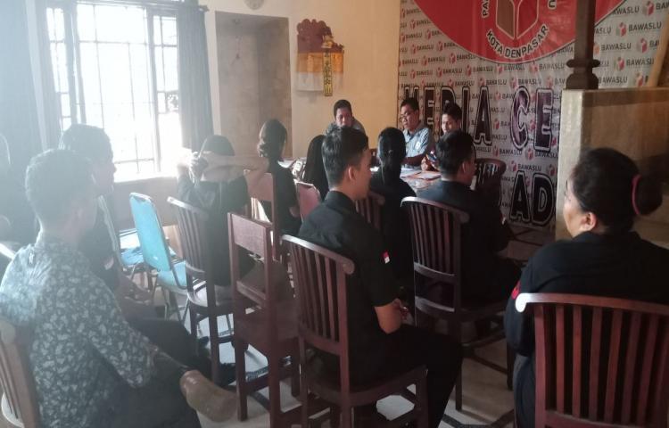 Kegiatan Persiapan Rapat Koordinasi Pemilu Tahun 2019