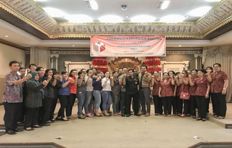 Panwaslu Badung Gelar Sosialisasi Pengawasan Pemilu