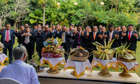 Pelantikan Calon Terpilih Panwas Kabupaten/Kota Se-Bali