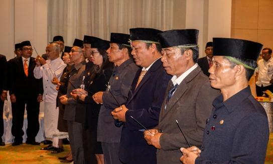 Pelantikan Kepala Sekretariat Panwas Kabupaten/Kota Se-Bali